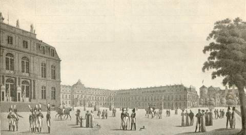 Stuttgart Aktiv - Neues Schloss um 1806