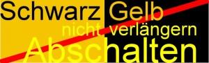 Schwarz Gelb und damit Neckarwestheim abschalten